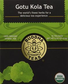 Gotu Kola Tea - Organic Herbs - 18 Bleach Free Tea Bags *** Click now. Unbelievable product right here! : Fresh Groceries