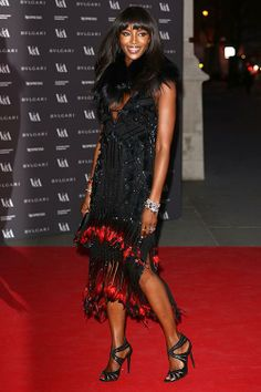 Coiffures de stars: les confidences du coiffeur culte Sam McKnight (Naomi Campbell, photo Getty Images) | Elle Québec