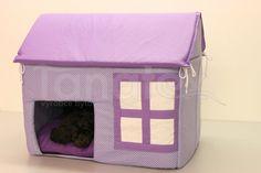 Domek Bertík - fialový | Pelechy a potřeby pro psy a kočky - Pelechy