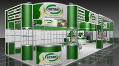 Ertan Gıda Modular Exhibition Stand @ Fair stand | Arkhe Mimarlık  http://www.exhibitionturkey.com/ExhibitionStandsDetails.aspx?projeId=98