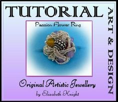 Wire Wrapping Step-by Step-Tutorial  Passion Flower by BijouxEla