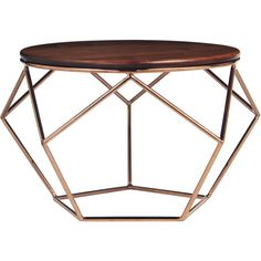 Alix Coffee Table ($599) ❤ liked on Polyvore featuring home, furniture, tables, accent tables, home decor, modern coffee table, modern furniture, modern accent tables, modern home furniture and mod furniture
