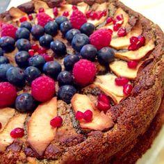 レシピとお料理がひらめくSnapDish - 86件のもぐもぐ - Creamcheese poppy & apple cake by Alice