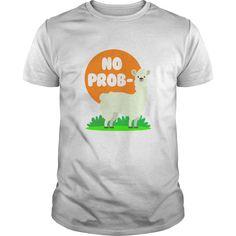 No prob-llama light no prob-llama - tshirt - Tshirt