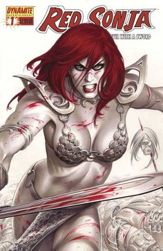 Red Sonja by Joseph Michael Linsner