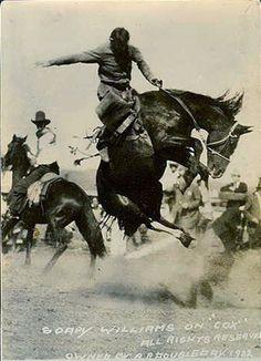 "Cowboys & Images - Soapy Williams on ""Cox"" - [11"" x 14"" Custom Art Print]"