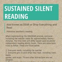 Infographic: Sustained Silent Reading