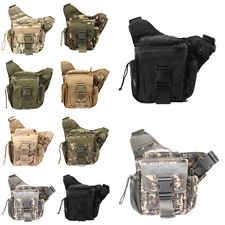 Tactical Oxford Waterproof  Backpack Outdoor Hiking Camping Pouch Waist Bag