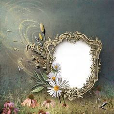 View album on Yandex. Boarders And Frames, 1st Birthday Pictures, Paper Frames, Flower Frame, Cover Pages, Sacred Geometry, Vintage Home Decor, Picture Frames, Floral Wreath