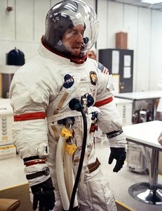 Jim Lovell - Apollo Space Suit
