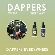 AND...our friend feom @dappersgroomingco also held a #dappersgiveaway . Go check their IG's for a chance to win their well-selected ingredients and fine brewed #mensgrooming selection!