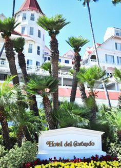 Hotel del Coronado - just outside of downtown  San Diego.