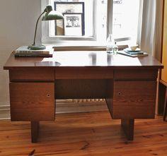 old vintage desk