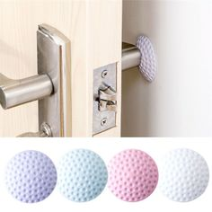 Wall Thickening Mute Fenders Door Wall Stick Golf Modelling Rubber Fender Handle Door Lock Protective Pad Home Wall Stickers(China) Room Stickers, Cheap Wall Stickers, Door Knobs, Door Handles, Padded Wall, Door Wall, Door Stop, Door Locks, New Furniture