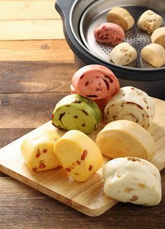 steamed buns (mantou) | Taiwanese food
