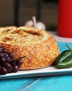 Formal petition to serve all foods in bread bowls from now until the end of time.
