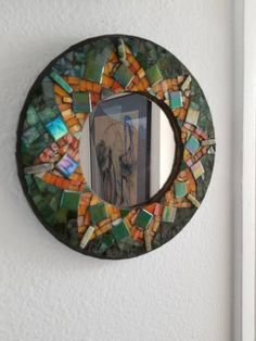 ❤ Boho Inspiration, Mosaic Mirrors, Witch Aesthetic, Mirror Door, Rich Colors, Mosaics, Floors, Frames, Art Deco