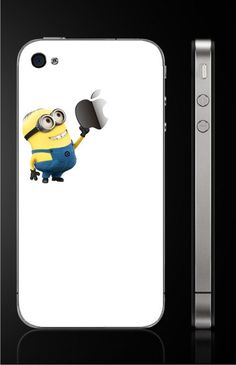 i need this minion decal for my phone!!