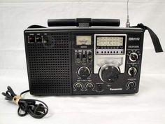 Panasonic 8 Band Shortwave Superheterodyne Radio