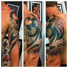 tribal tattoo ocean waves - Google Search