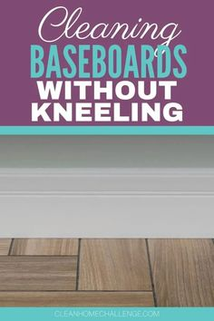 If you have baseboards or skirting boards as we call them In Australia in your home, chances are you've seen the pile of dust that gathers around them. And if there is one thing you want to avoid, it's having to kneel down and reach out your arm to wipe it away. But never fear! There is an easier way. All it takes is a few cleaning tools, as well as some time to spare.
