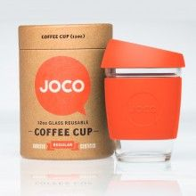 Blue JOCO Coffee Cup – Reusable Glass Cup -beautiful design and packaging Coffee To Go, Coffee Mugs, Coffee Shop, La Coffee, Coffee Maker, Coffee Lovers, Muesli, Glass Coffee Cups, Reusable Coffee Cup