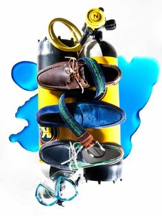 boat shoes men/styling for attica store magazine