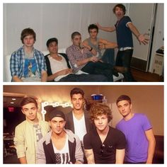 The Wanted then and now. Oh how times have changed!