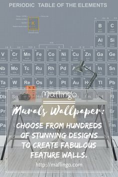 Murals are back but this time it's all about wallpaper! Don't take my word for it, feast your eyes on the stunning designs on offer at Murals Wallpaper. Custom Wallpaper, Of Wallpaper, Bedroom Themes, Bedrooms, Home Renovation, Home Remodeling, Fantastic Wallpapers, Periodic Table Of The Elements, Building Painting