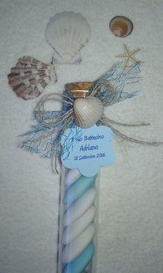 Provetta portaconfetti bomboniera matrimonio tema mare, by Baule delle Meraviglie, 3,20 € su misshobby.com