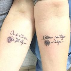With the second Sunday in May approaching, how about thinking about some tribute ideas for Mother's Day? Anyone who thinks that it is necessary to invest Mutterschaft Tattoos, Mommy Tattoos, Paar Tattoos, Small Girl Tattoos, Couple Tattoos, Tattoos For Women, Tatoos, Tattoo Life, Get A Tattoo