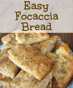 This easy focaccia bread recipe is easy and so good! This easy focaccia bread recipe is easy and so good! Easy Focaccia Bread Recipe, Bread Recipes, Cooking Recipes, Focaccia Pizza, Scd Recipes, Quick Flat Bread Recipe, Italian Flat Bread Recipe, Copycat Recipes, Homemade Banana Bread