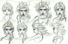 Elsa - Frozen concept art