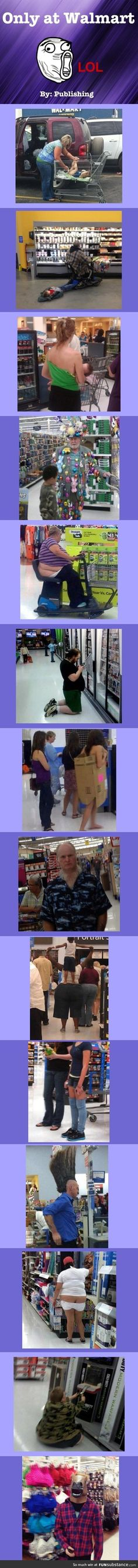 Only at Wal-Mart #compartirvideos #imagenesdivertidas
