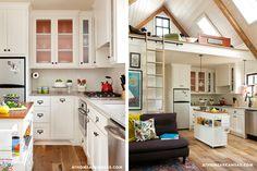 Tumbleweed Tiny House Interior | tumbleweed home # tiny home # natural light