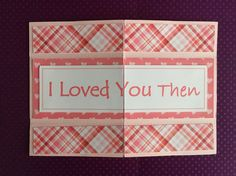 Valentine/Love Infinity Card by DebsCardStudio on Etsy
