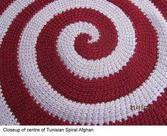 tunisian spiral