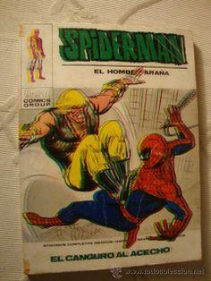 VERTICE MARVEL COMIC SPIDERMAN SPIDER-MAN VOL.1 Nº 57, EL CANGURO AL ACECHO RQ