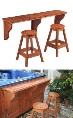 decking with spas - Google Search