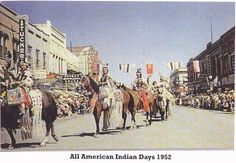 1952 All American Indian days Sheridan, Wyoming