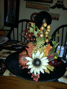 Fall witch hat