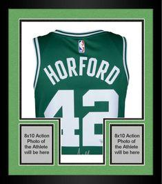 05258198e39 Framed Al Horford Boston Celtics Autographed Green Nike Swingman Jersey   sportsmemorabilia  autograph  basketballjersey