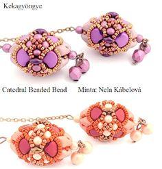 Kekagyöngye Beaded Bead, Charmed, Beads, Bracelets, Jewelry, Fashion, Beading, Moda, Jewlery