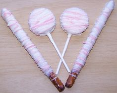 Double Stuff Oreo Cookies On a Stick Covered by HolidayConfections, $20.00