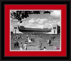 Ohio State Buckeyes - Vintage 1950 Ohio Stadium -Framed P… Oregon Ducks Football, Ohio State Football, Ohio State Buckeyes, Oklahoma Sooners, American Football, College Football, Florida State University, Florida State Seminoles, University College