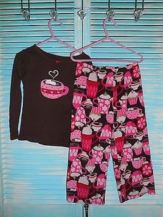 Carter's Girls Pajama Set Size 4T