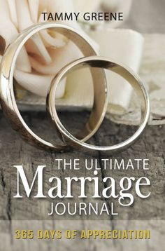 """A must for every marriage! This book saved my marriage. """"The Ultimate Marriage Journal: 365 Days of Appreciation"""" is an easy and wonderful tool to help lift the spirit of you marriage to one of daily appreciation and gratitude.  Every marriage should have this journal.  No joke.  It works!"""