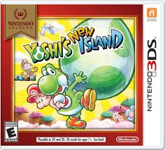 Nintendo Selects: Yoshi's New Island 3DS. Yoshi reunites with Baby Mario in a gorgeous landscape to help him to safety. Flutter jumps, ground pounds and egg throws all return, along with some new acti
