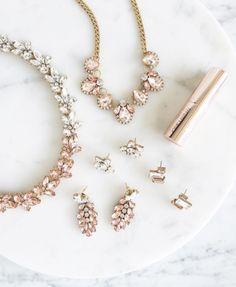 Blushing gems | beautiful jewelry @oliveandpiper