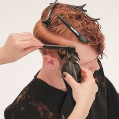 Men's Overdirected Clipper Cut from TONIandGUY - Behindthechair.com Simply Hairstyles, Young Mens Hairstyles, Little Boy Hairstyles, Latino Haircuts, Haircuts For Men, Fade Haircut, Pixie Haircut, Toni And Guy Salon, Hair Cutting Videos